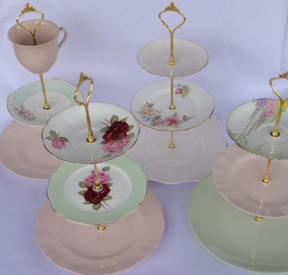 Tea Cake Stand Parts