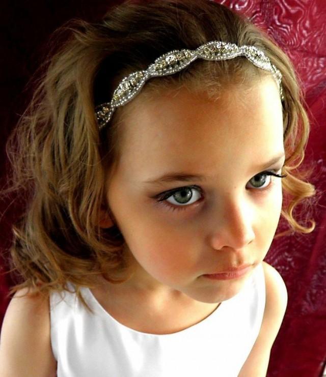 fleur de mariage nuptiale de cheveux de fille communion strass perles bandeau de ruban 2046302. Black Bedroom Furniture Sets. Home Design Ideas