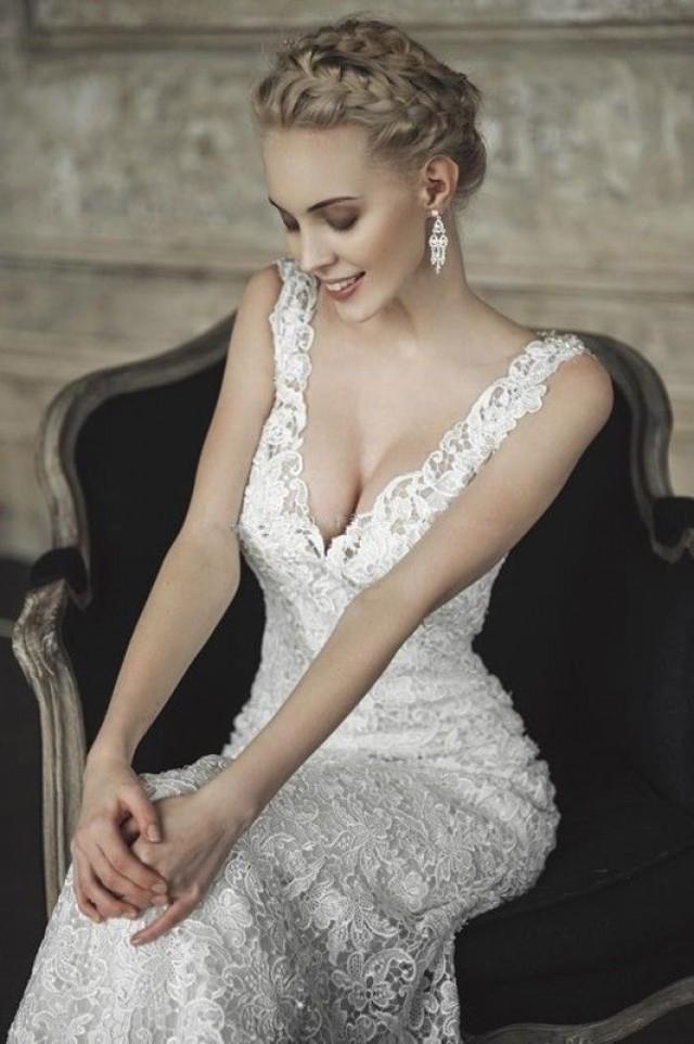 Wedding Dresses - Hot New Ivory White Lace Wedding Dress #2052645 ...