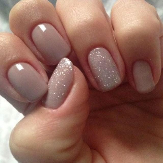 Nude Color Nails - 25 Best Nude Nail Polish Manicures #2522806 ...