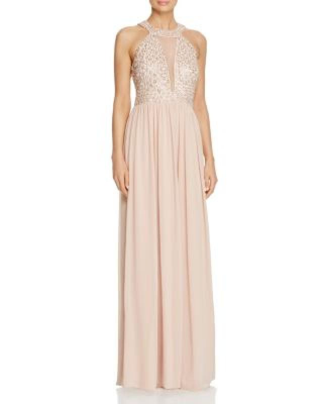 JS Collections Beaded Illusion Gown - 100% Exclusive #2712661 - Weddbook