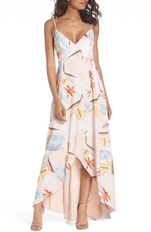 Brautjungfer - Show Me Your Mumu Meghan Wrap Dress #2829950 - Weddbook