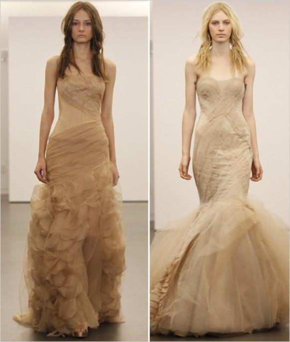 Vera wang vera wang nude wedding dress 792557 weddbook junglespirit Gallery