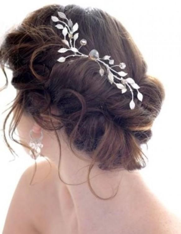 Bun Hair Model Gorgeous Messy Side Bun Wedding Hair 797946 Weddbook