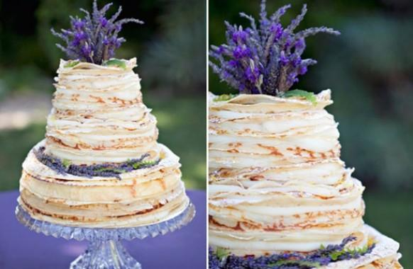 Yummy Vintage Wedding Cakes Homemade Crepe Wedding Cake 798248