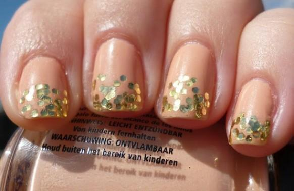 Peach Wedding - Bridal Nail Designs ♥ Wedding Nail Art ...