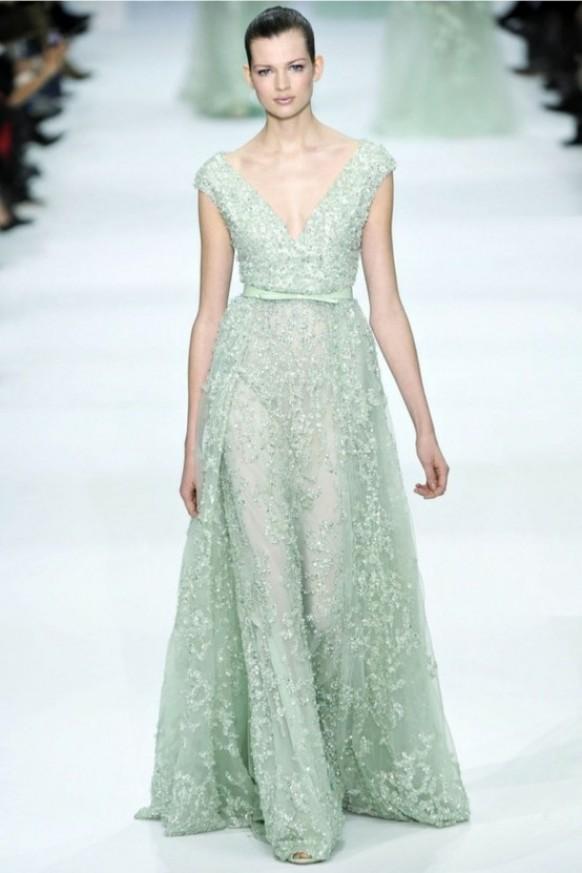 Pale Green Wedding Dress – Fashion dresses