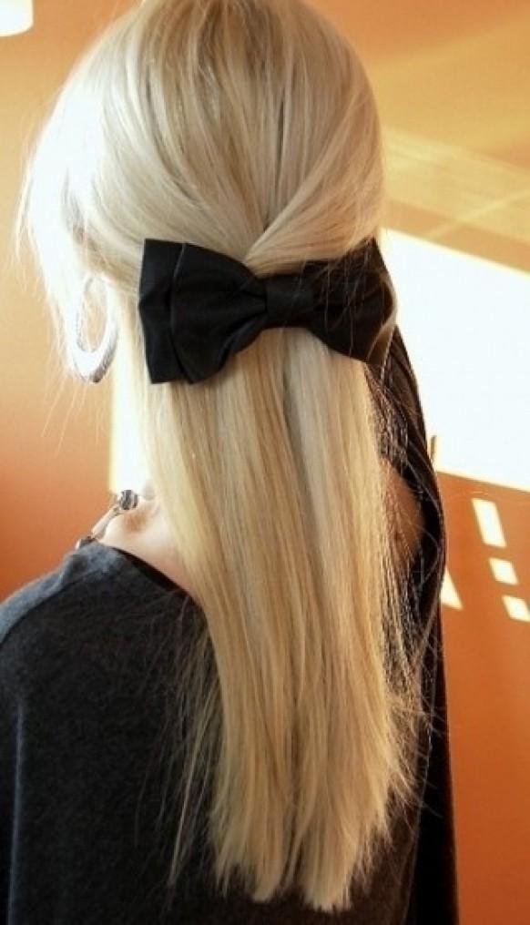 Wedding hair half up natural