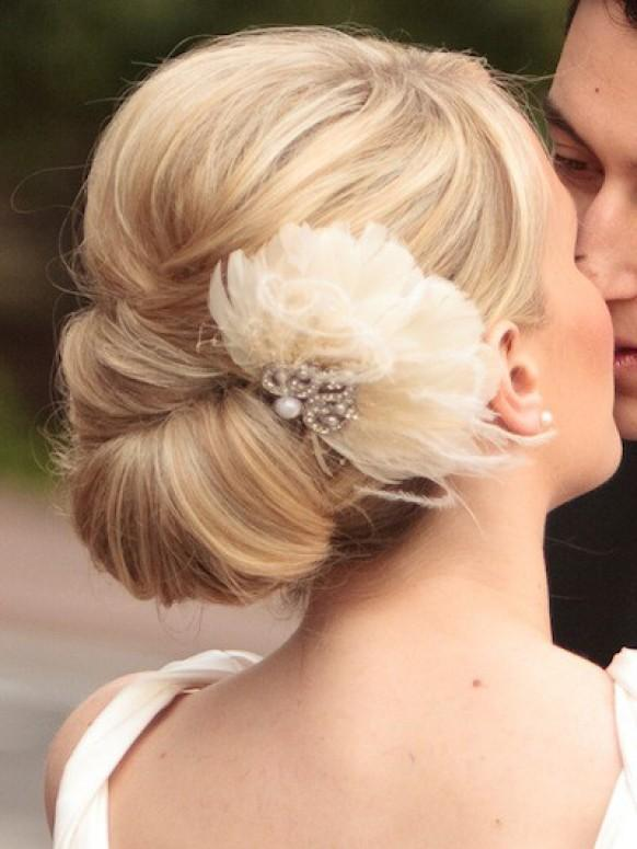 Simple Wedding HairStyles ♥ Wedding Updo Hairstyle #804064 - Weddbook