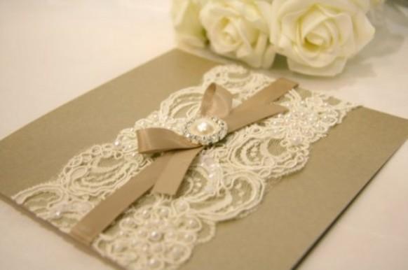 Diy Vintage Wedding Invitations Handmade